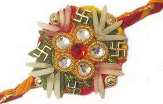 Traditional Rakhi Styles and designs on Raksha Bandhan _26