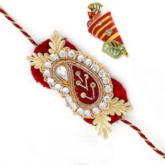 Traditional Rakhi Styles and designs on Raksha Bandhan _28