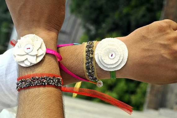 Traditional Rakhi Styles and designs on Raksha Bandhan _30