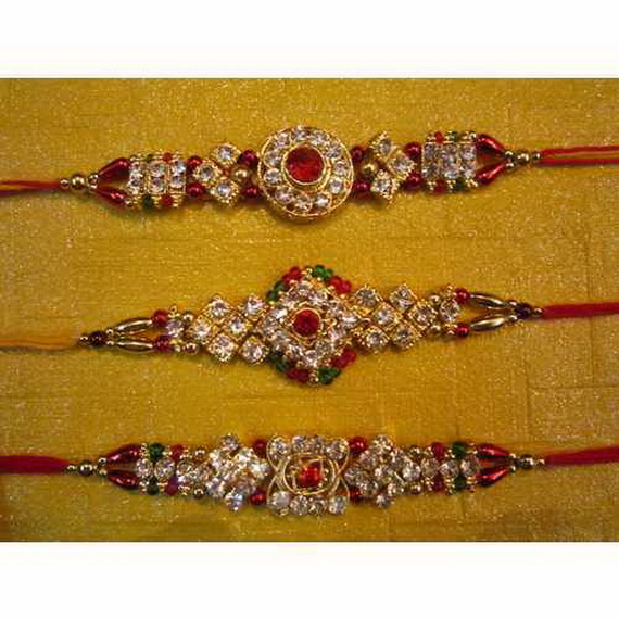Traditional Rakhi Styles and designs on Raksha Bandhan _34