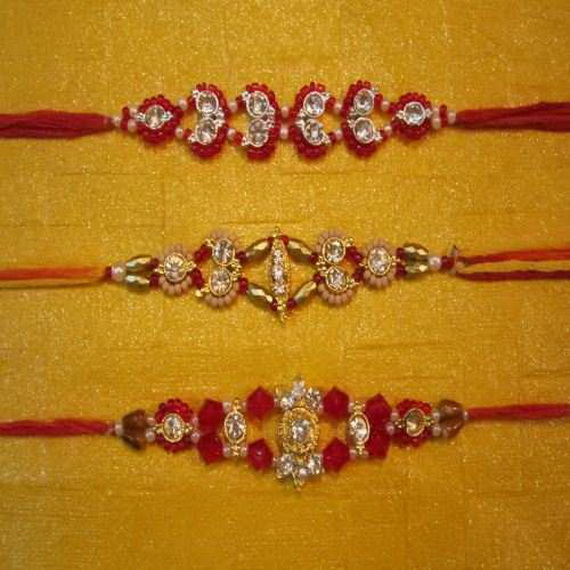 Traditional Rakhi Styles and designs on Raksha Bandhan _35