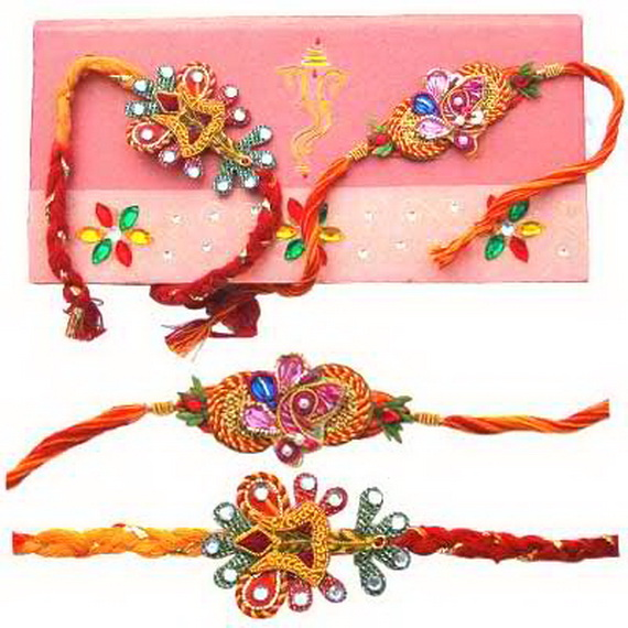 Traditional Rakhi Styles and designs on Raksha Bandhan _39
