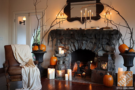 50 awesome halloween indoors and outdoor decorating ideas Scary halloween decorating ideas inside