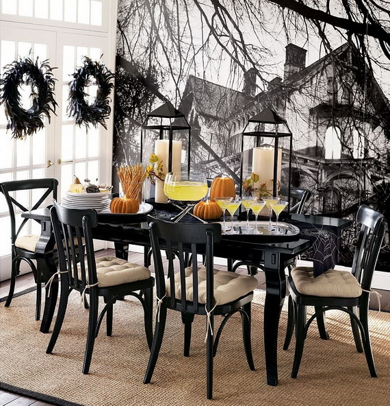 Awesome Halloween Indoors And Outdoor Decorating Ideas Family - Best halloween table decoration ideas