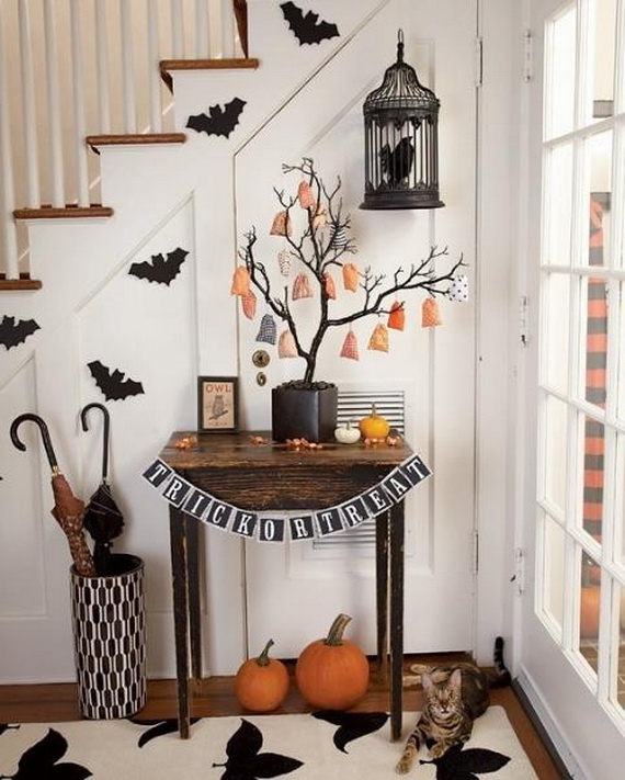 50 awesome halloween indoors and outdoor decorating ideas _027 - Halloween Indoor Decoration Ideas