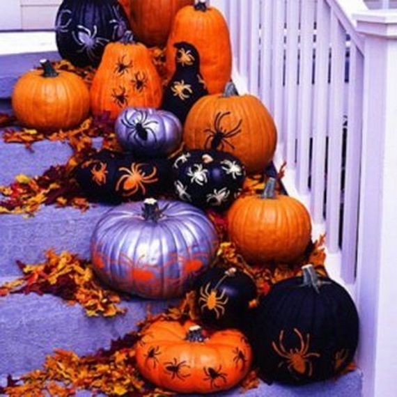 50 Unique Fall Staircase Decor Ideas_01