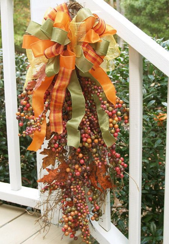 50 Unique Fall Staircase Decor Ideas Family Holiday Net