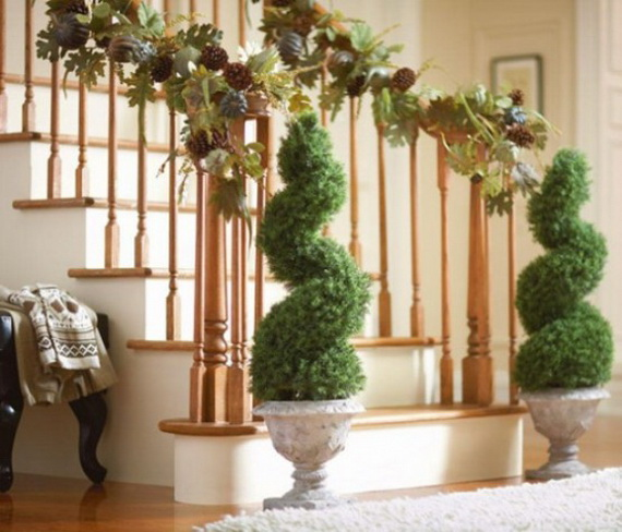 50 Unique Fall Staircase Decor Ideas_20