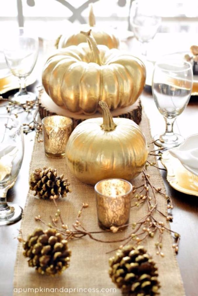 Amazing Pumpkin Centerpieces (1)