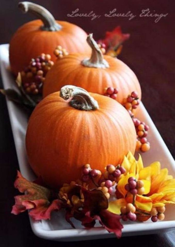 60 Amazing Pumpkin Centerpieces And Glorious Fall ... - photo#47