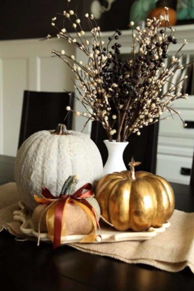 Amazing Pumpkin Centerpieces (7)
