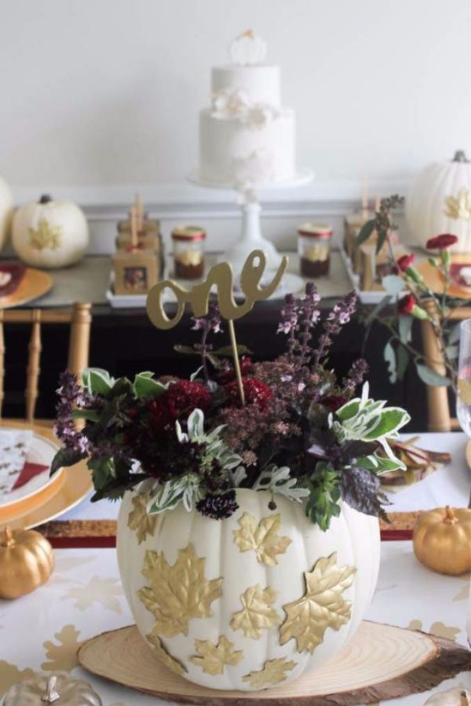 Amazing Pumpkin Centerpieces