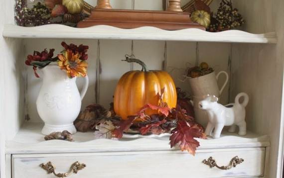 35 Beautiful And Cozy Fall Kitchen Decor Ideas - family