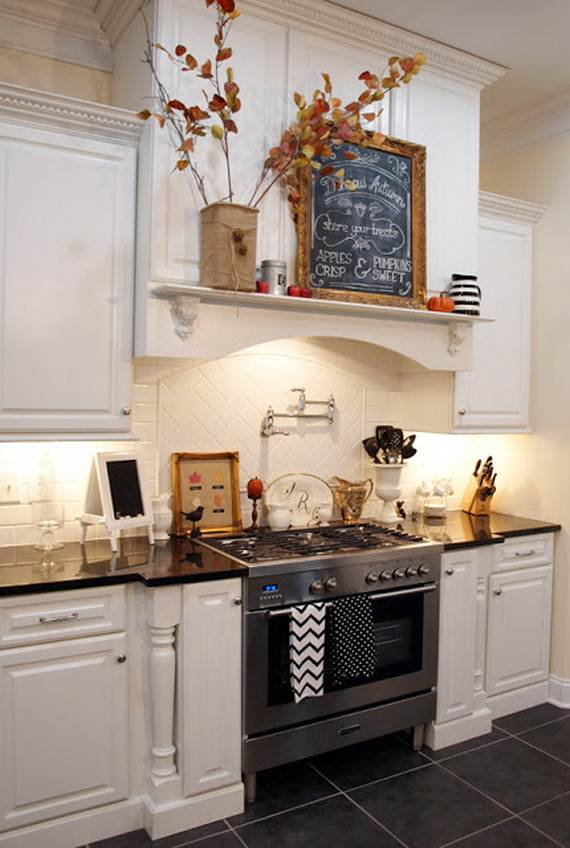 Lovely Fall Kitchen Decorating Ideas Part - 13: Beautiful-And-Cozy-Fall-Kitchen-Decor-Ideas_17