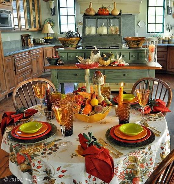 Colors To Your Kitchen Making A Beautiful And Cozy Fall Kitchen Decor