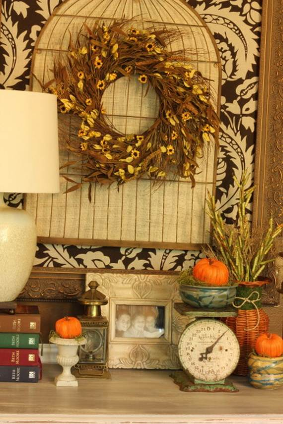 35 Beautiful And Cozy Fall Kitchen Decor Ideas family holiday