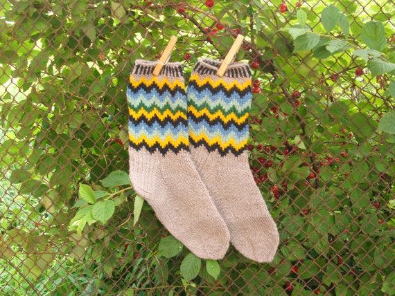 Christmas Decor – Knit Christmas Tree Ornament craft ideas.   (19)