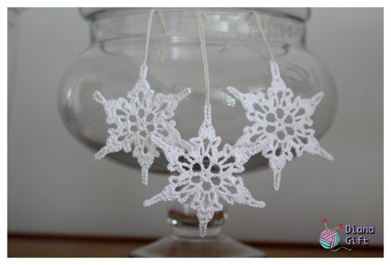 Christmas Decor – Knit Christmas Tree Ornament craft ideas.   (22)