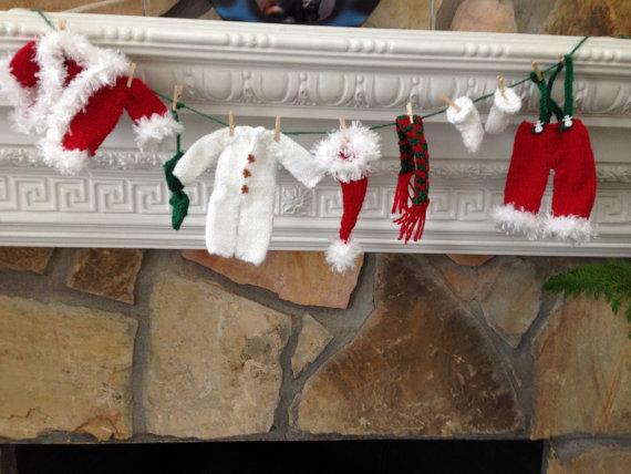 Christmas Decor – Knit Christmas Tree Ornament craft ideas.   (28)