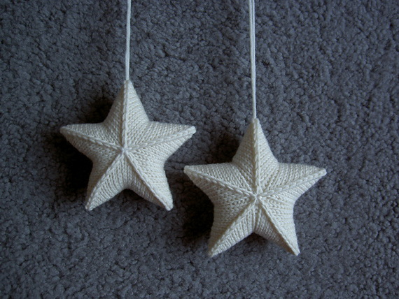Christmas Decor – Knit Christmas Tree Ornament craft ideas.   (36)_resize