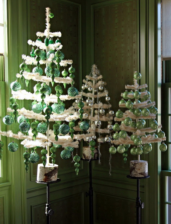 christmas decoration ideas from marth 29 - Martha Stewart Christmas Tree Decorations