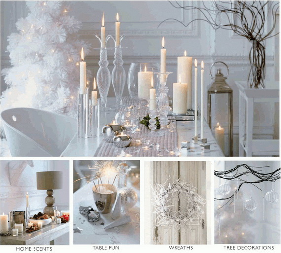 50 beautiful christmas home decoration ideas from martha Home decorating ideas for christmas holiday