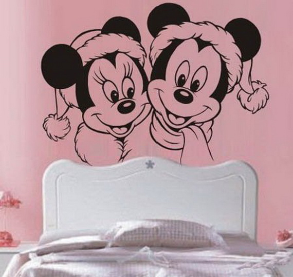 Christmas Decoration Ideas for Kids Room - Wall Decals_03