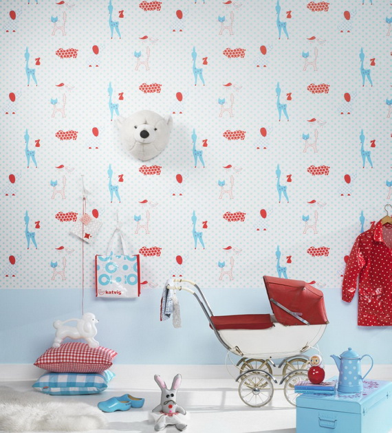 Christmas Decoration Ideas for Kids Room - Wall Decals_04