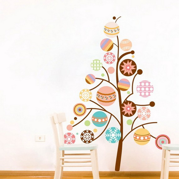 Christmas Decoration Ideas for Kids Room - Wall Decals_10