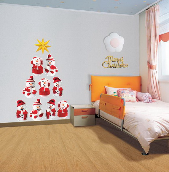 Christmas Decoration Ideas for Kids Room - Wall Decals_11