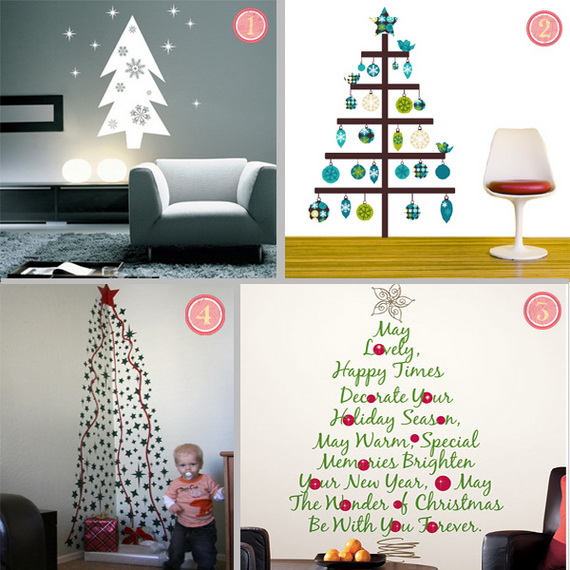 Christmas Decoration Ideas for Kids Room - Wall Decals_18