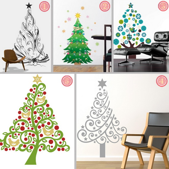 Christmas Decoration Ideas for Kids Room - Wall Decals_19