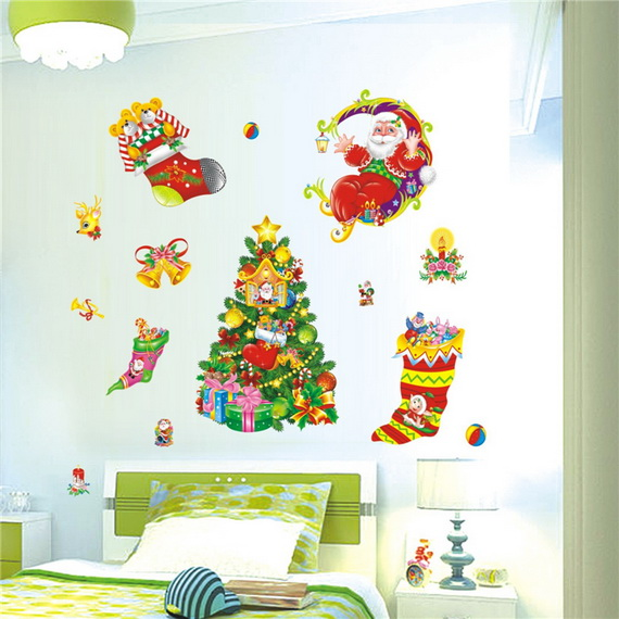 Christmas Decoration Ideas for Kids Room - Wall Decals_20