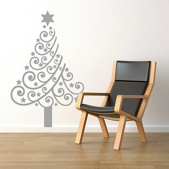 Christmas Decoration Ideas for Kids Room - Wall Decals_51