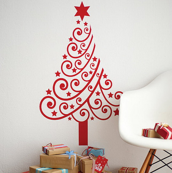Christmas Decoration Ideas for Kids Room - Wall Decals_52