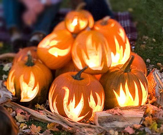 cool easy pumpkin carving ideas _32 - Unique Pumpkin Carving Ideas