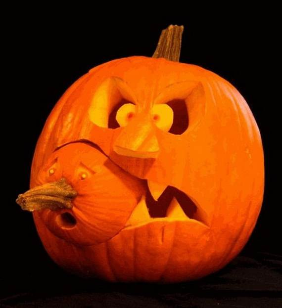 cool halloween pumpkin carving ideas car interior design