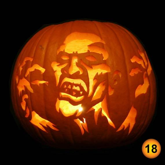 cool easy pumpkin carving ideas _48 - Cool Halloween Pumpkin Designs
