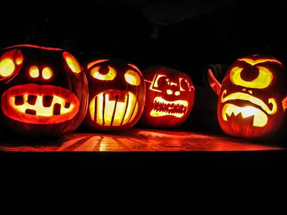 Cool Easy Pumpkin Carving Ideas _55