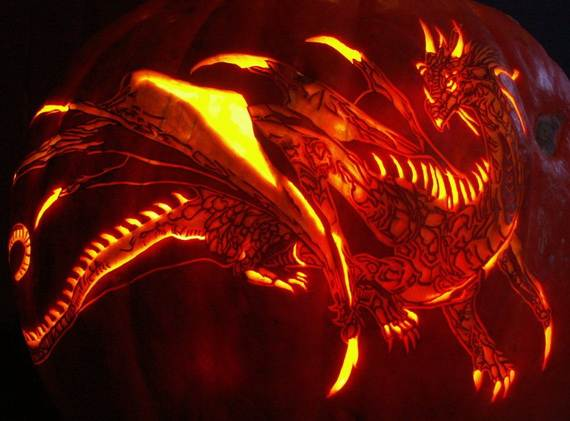 cool easy pumpkin carving ideas _57 - Unique Pumpkin Carving Ideas