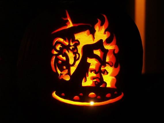 Cool Easy Pumpkin Carving Ideas _60