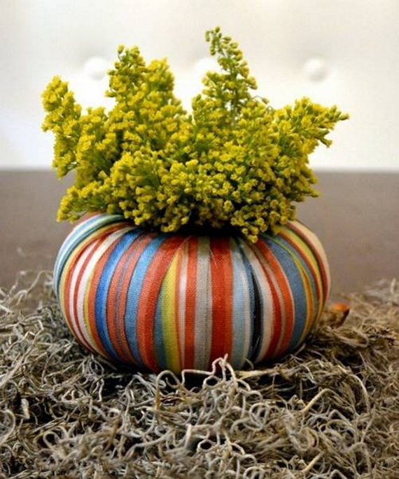 Cool Fall Flower Centerpiece and Flower Table  (70)