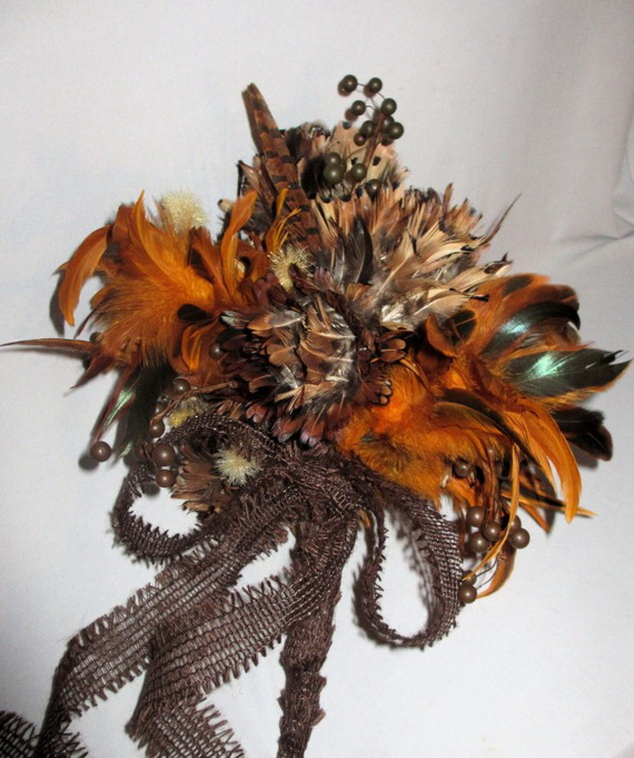 Cool Fall Flower Centerpiece and Flower Table  (71)