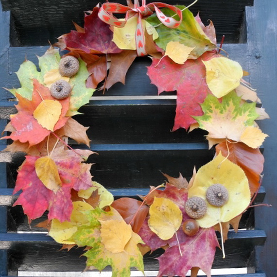 Easy Ways Using Autumn Leaves _12