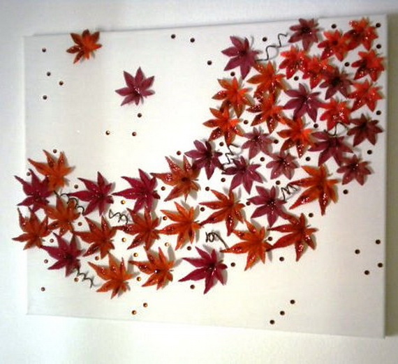 Easy Ways Using Autumn Leaves _15_1