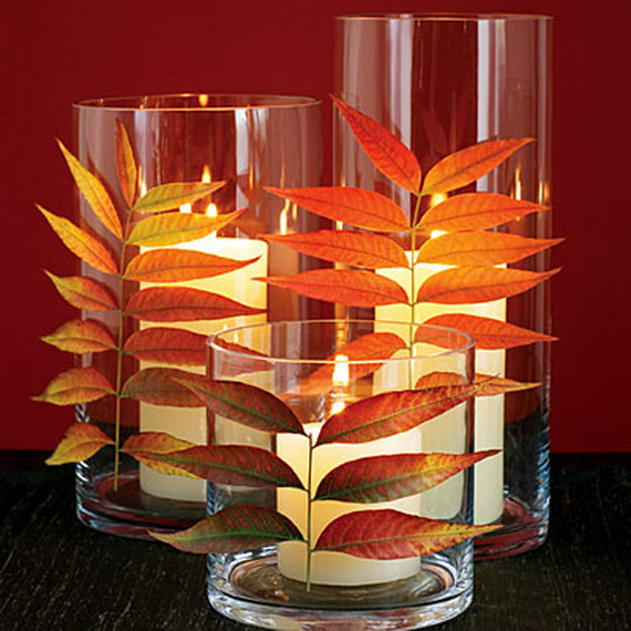 Easy Ways Using Autumn Leaves _19_1