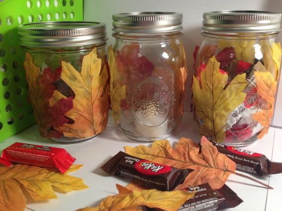 Easy Ways Using Autumn Leaves _21_1