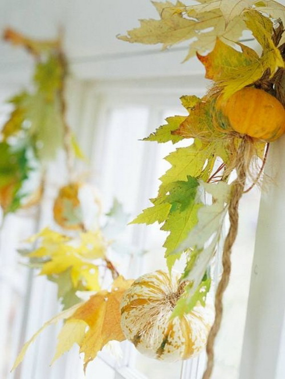 Easy Ways Using Autumn Leaves _33
