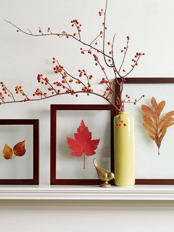 Easy Ways Using Autumn Leaves _34