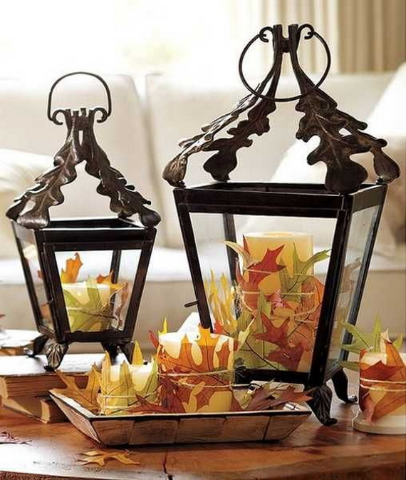 Easy Ways Using Autumn Leaves _36